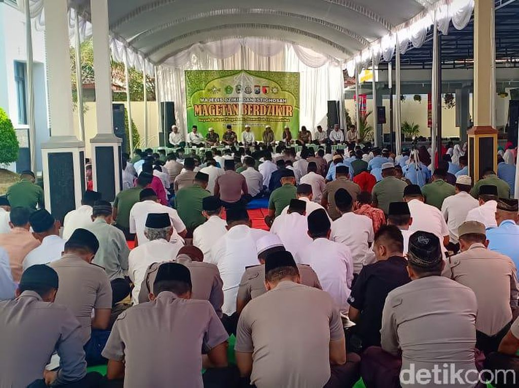 Kabupaten Magetan Gelar Zikir dan Doa Bersama Jelang HUT RI