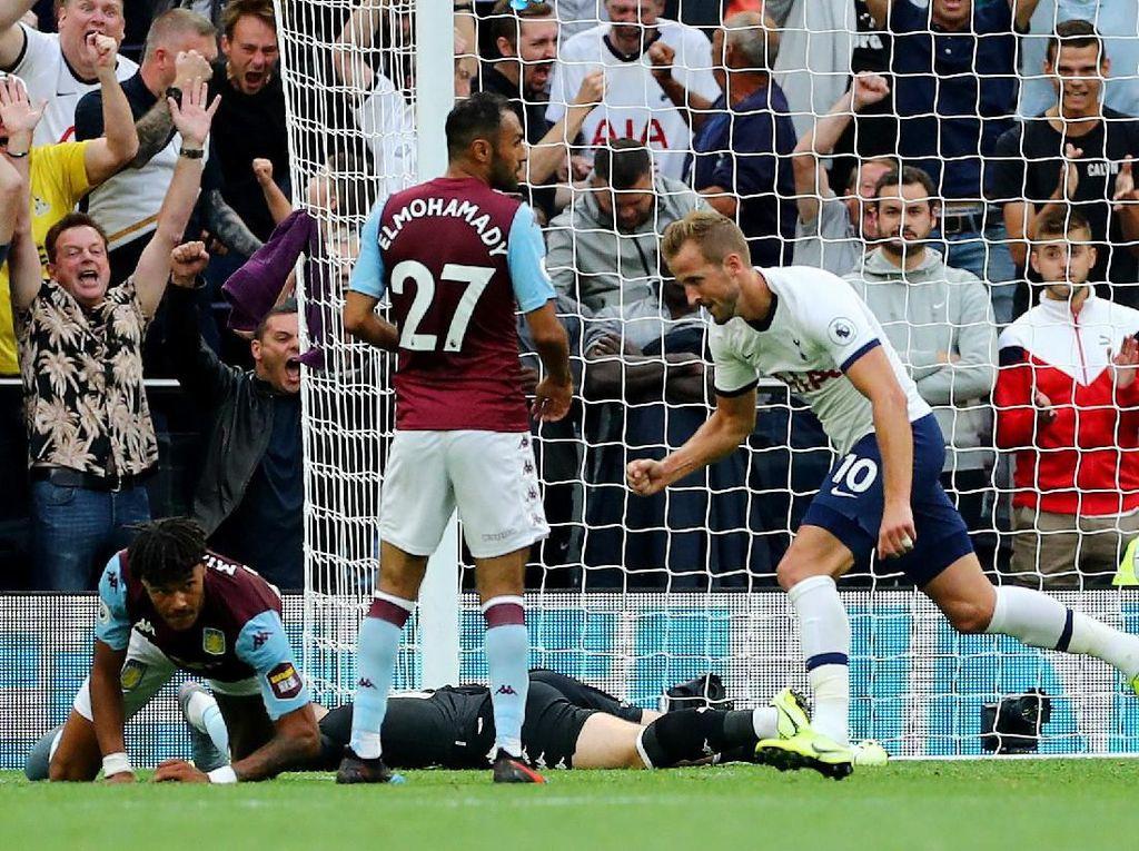 Tottenham Vs Aston Villa: Kane 2 Gol, Spurs Menang 3-1