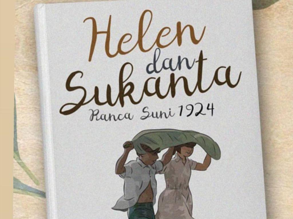 Begini Bocoran Sampul Novel Terbaru Pidi Baiq Helen dan Sukanta