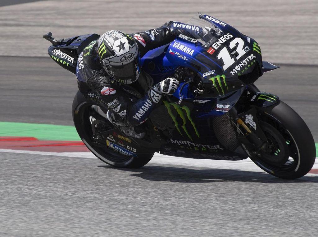 Vinales: Motor Yamaha 2020 Belum Bisa Selevel Honda dan Ducati