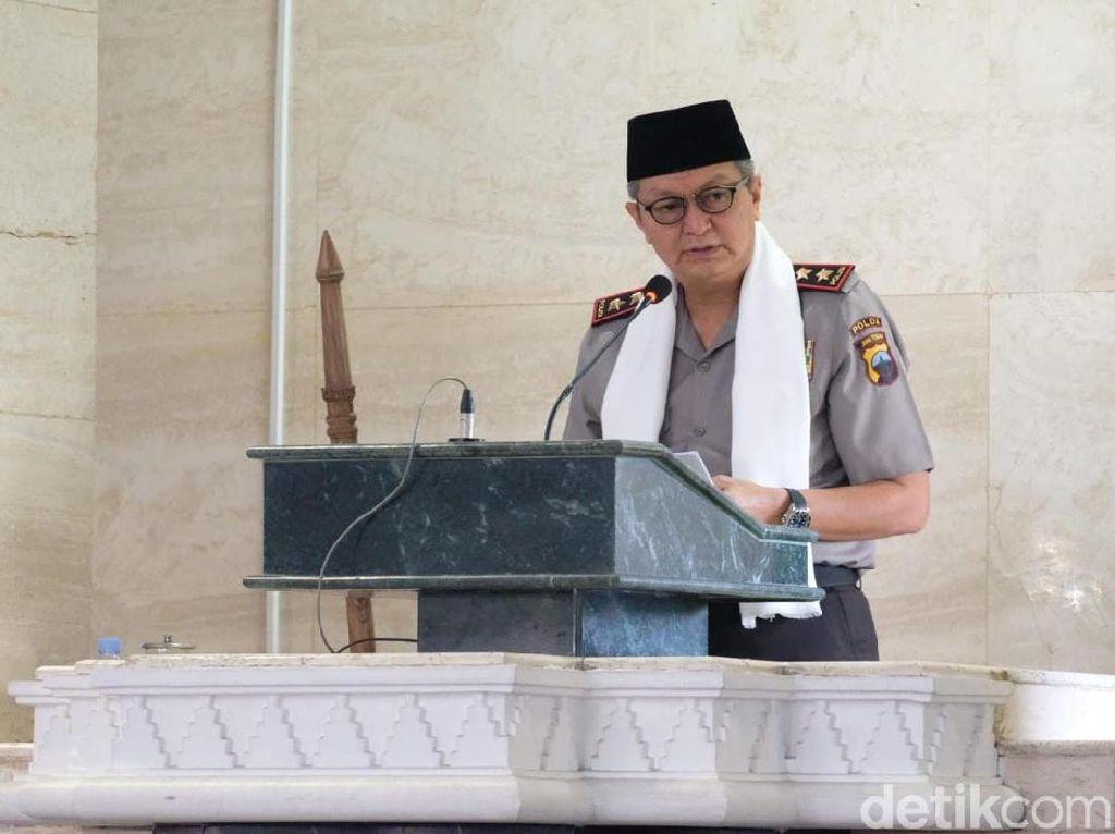 Kapolda Jateng Jadi Khatib, Singgung Kelompok Merasa Paling Benar