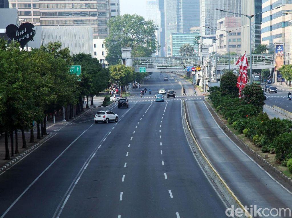 Ada Karnaval Jakarta Langit Biru di Sudirman, Ini Rekayasa Lalinnya