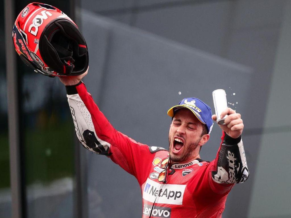 Kemenangan di Austria Bikin Dovizioso Optimistis Tatap Sisa Musim