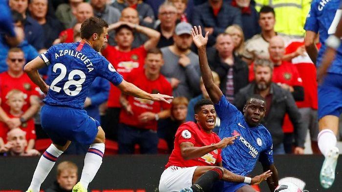 Manchester United mengalahkan Chelsea dengan skor 4-0 di partai pertama Liga Inggris yang berlangsung di Old Trafford, Minggu (11/8/2019) malam WIB.