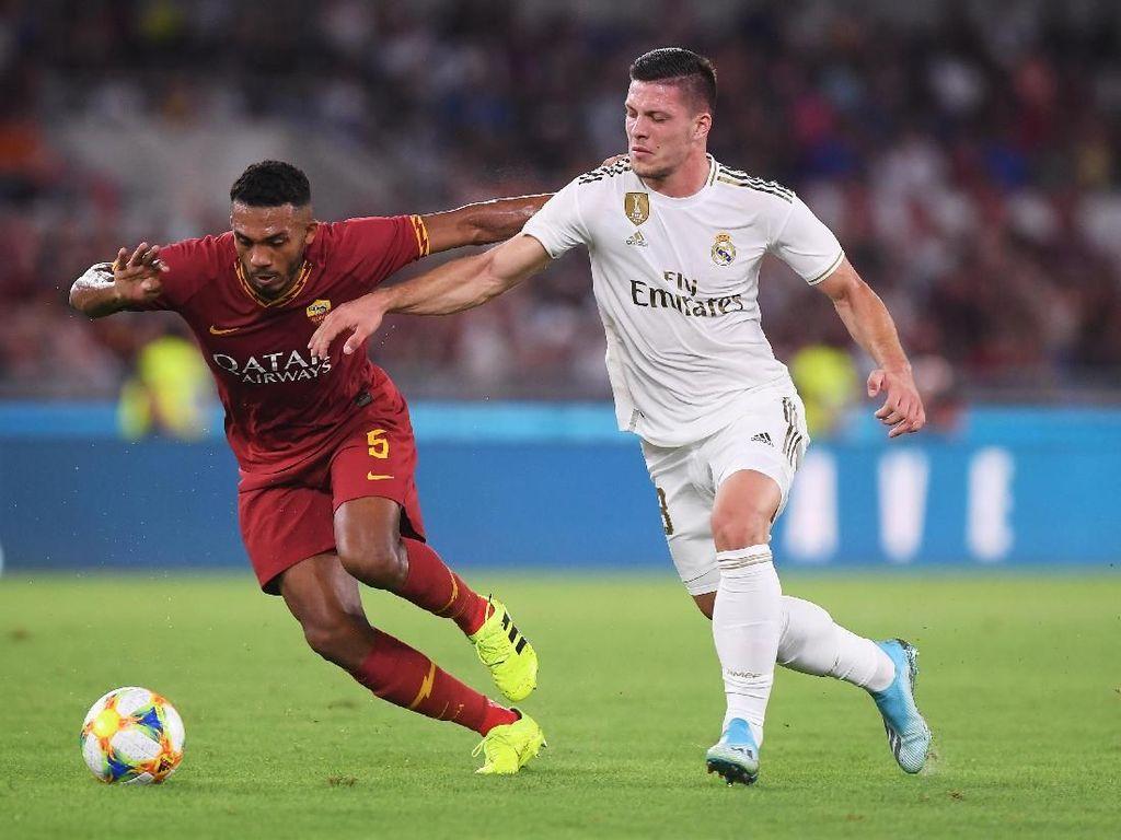 Roma Vs Madrid: Serigala Ibukota Kalahkan Los Blancos Lewat Adu Penalti