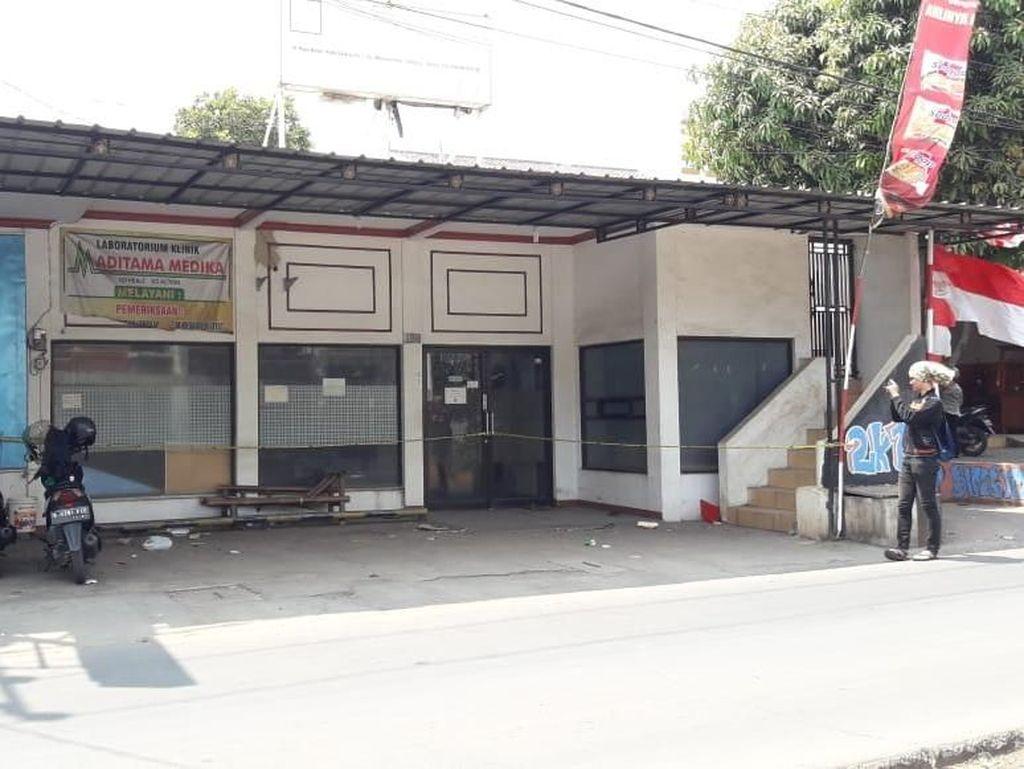Klinik Aditama Medika Tempat Aborsi di Tambun Dipasangi Garis Polisi
