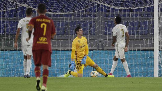 Real Madrid kalah dalam adu penalti dari AS Roma.