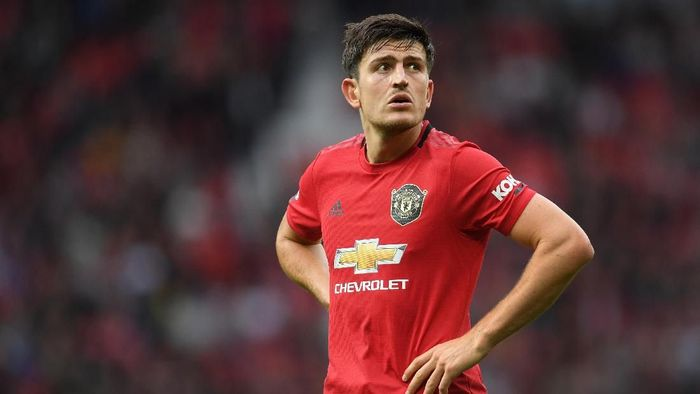 Harry Maguire disebut terlahir untuk Manchester United. (Foto: Michael Regan/Getty Images)