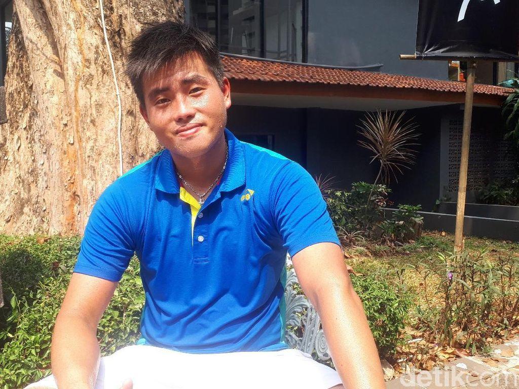 Tersingkir dari Tennis Open, Anthony Susanto Menatap Davis Cup dan SEA Games