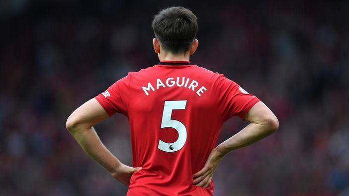Harry Maguire diyakini akan menjadi kapten Manchester United di masa depan. (Foto: Michael Regan/Getty Images)