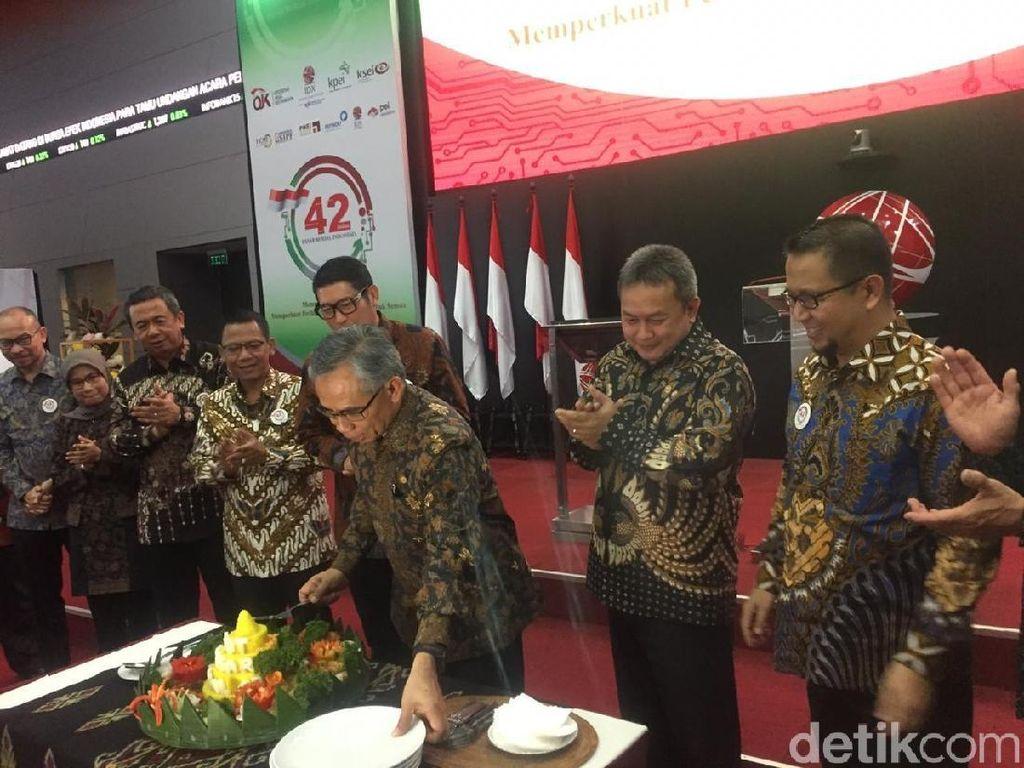 42 Tahun Berdiri, Begini Perjalanan Pasar Modal Indonesia