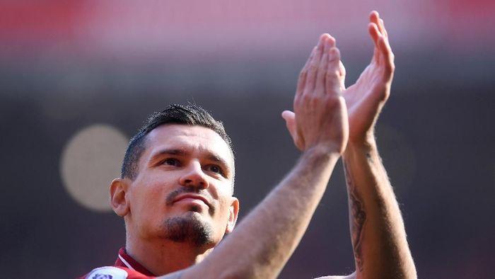Bek Liverpool Dejan Lovren. (Foto: Laurence Griffiths/Getty Images)