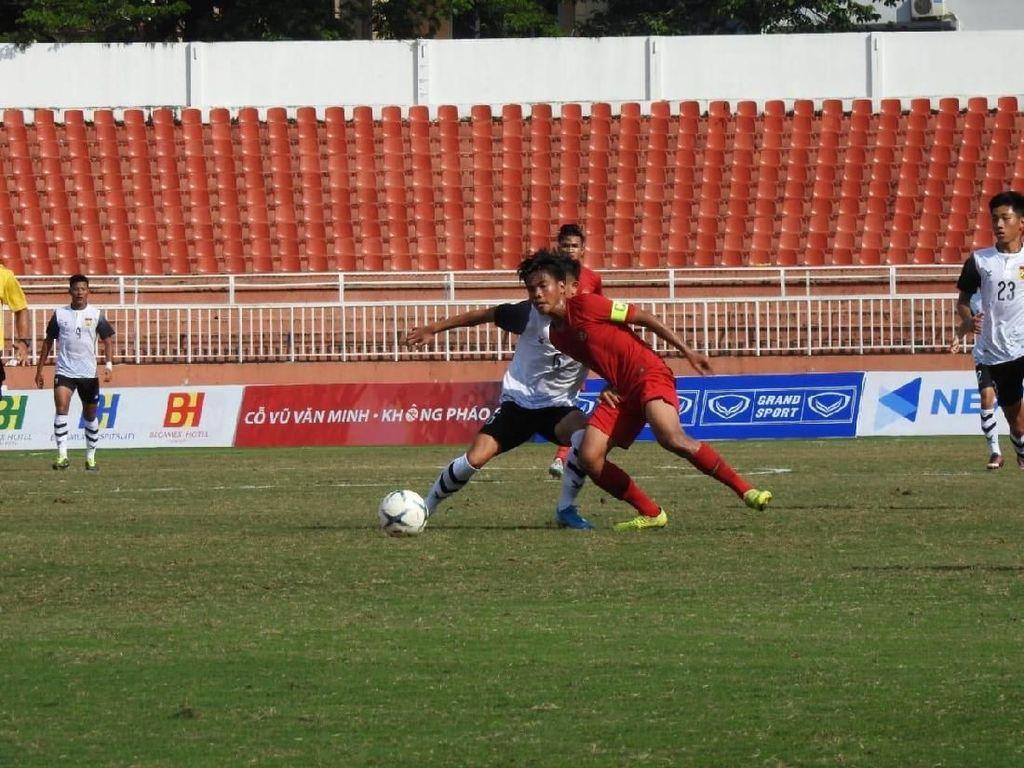 Piala AFF U-18: Indonesia Dapat Pelajaran Baru dari Laos