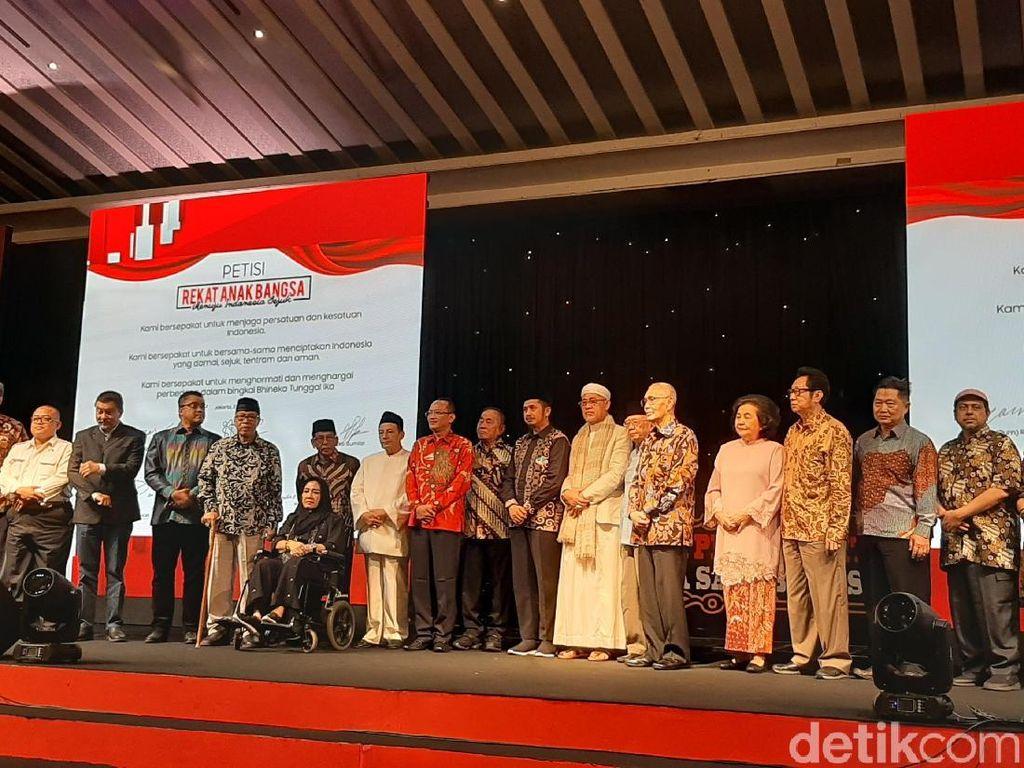 Menhan hingga Rachmawati Soekarnoputri Hadiri Silaturahmi Kebangsaan