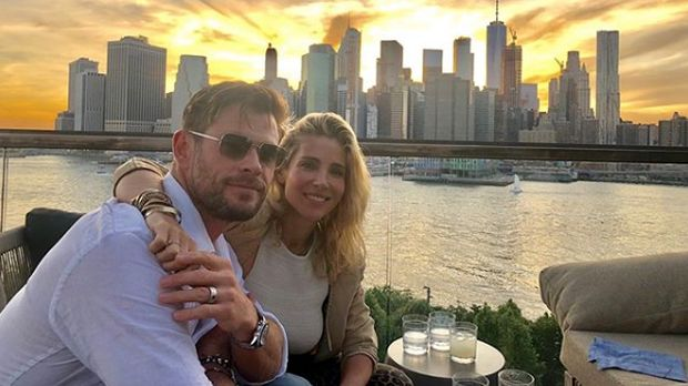 Chris Hemsworth dan Elsa Pataky/
