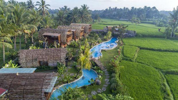 Hotel Rasa Vila di Tengah Persawahan Ubud
