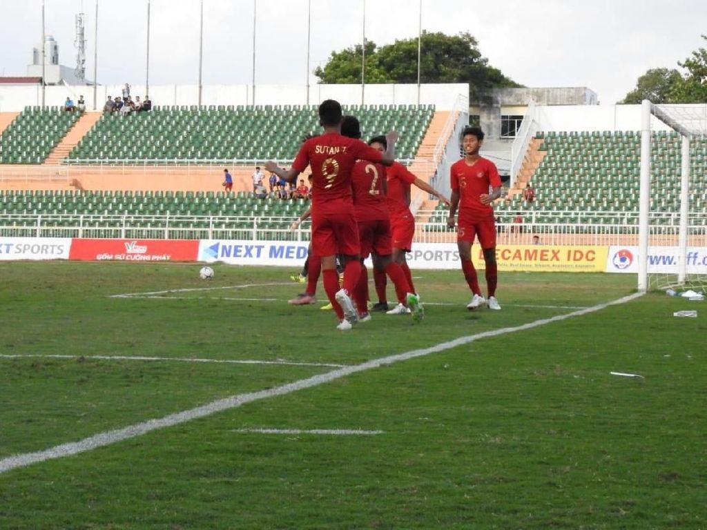 Piala AFF U-18: Babak I Myanmar Vs Indonesia Masih Tanpa Gol