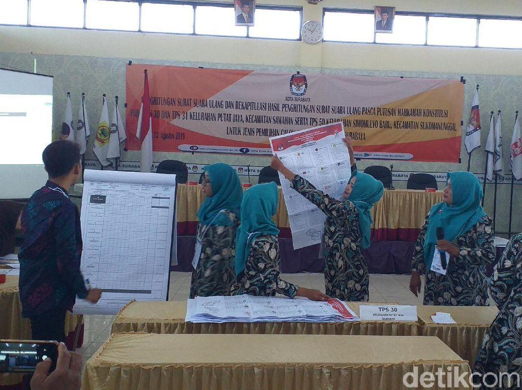 Penghitungan Surat Suara Ulang Surabaya Digelar Hari Ini Dihadiri Ketua KPU