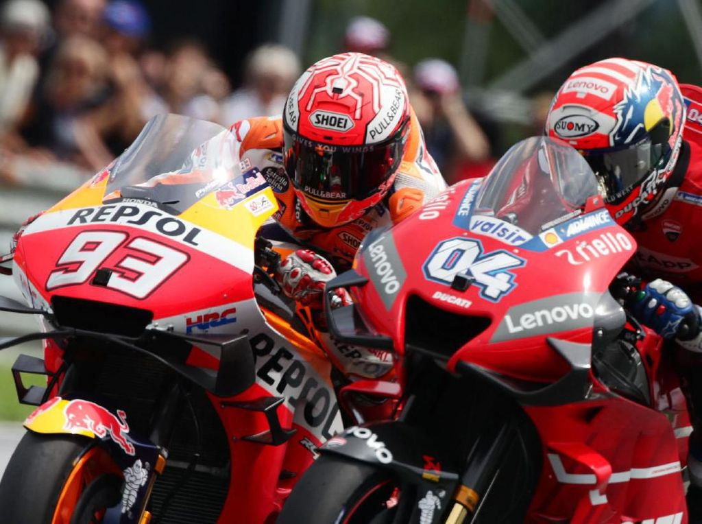 Agostini: Untuk Juara, Ducati Mesti Minta Izin Marquez Dulu