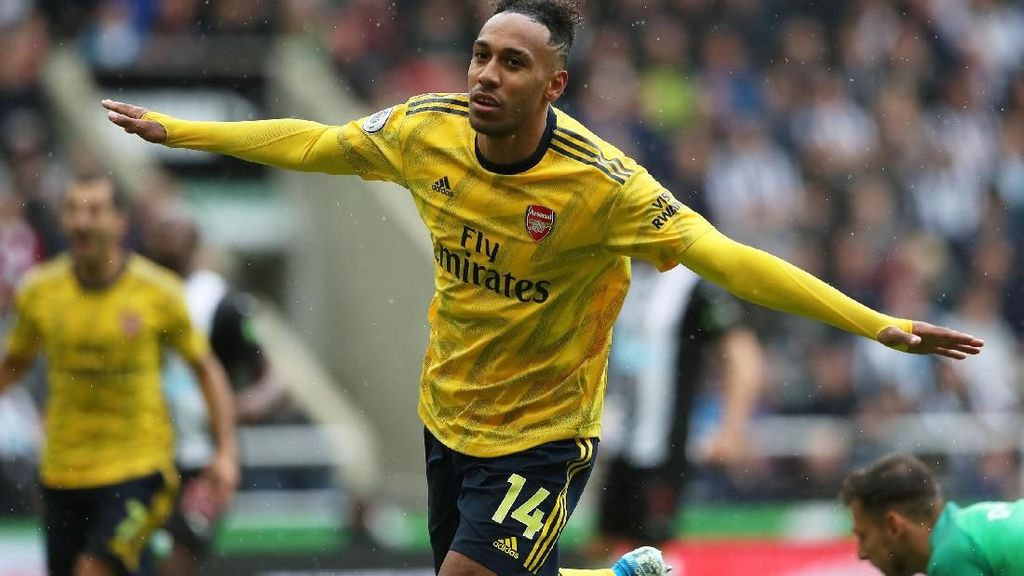 Aubameyang Menangkan Arsenal atas Newcastle United