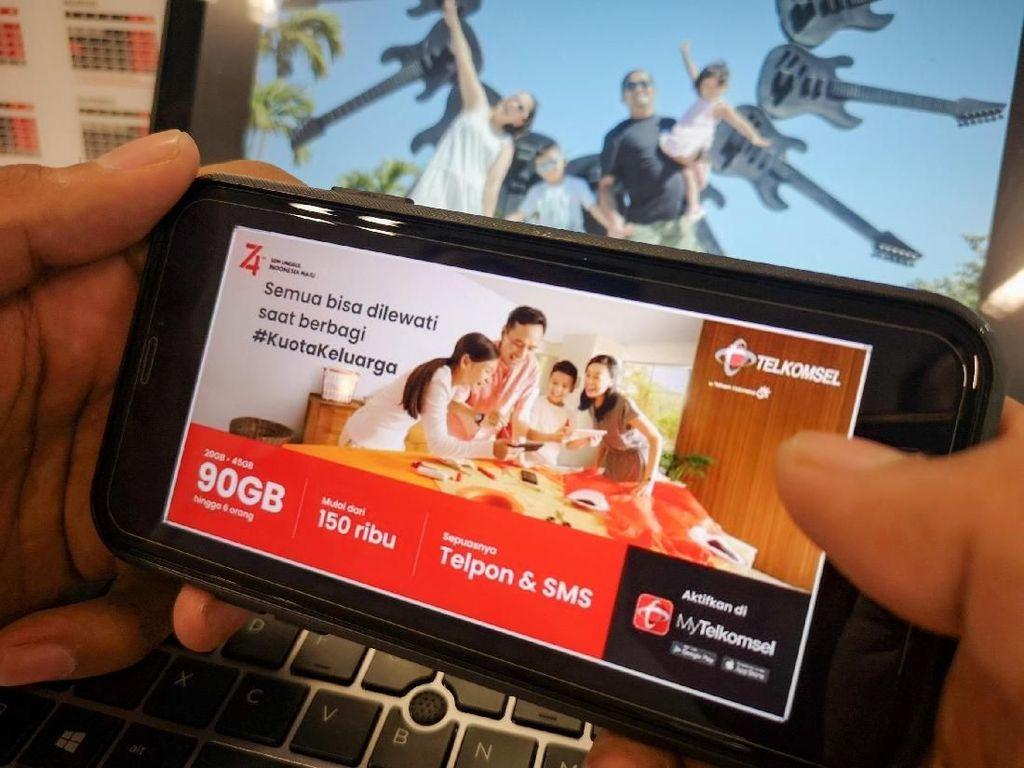Telkomsel Punya Kuota Keluarga, Ini Cara Menggunakannya