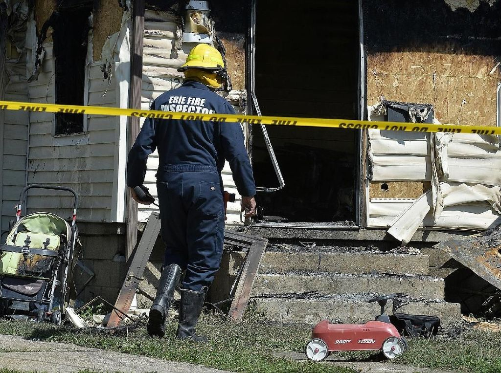Tragis! Kebakaran di Day Care Amerika Tewaskan 5 Anak