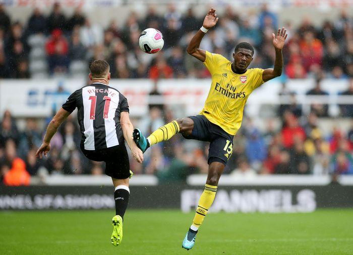 Laga pekan pertama Liga Inggris antara Newcastle United vs Arsenal digelar di St James Park, Minggu (11/8/2019) malam WIB. Reuters/Carl Recine.