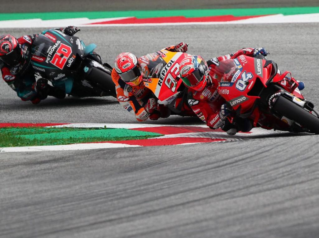 Silverstone Kurang Cocok untuk Ducati, Dovizioso Tetap Yakin Bakal Kompetitif