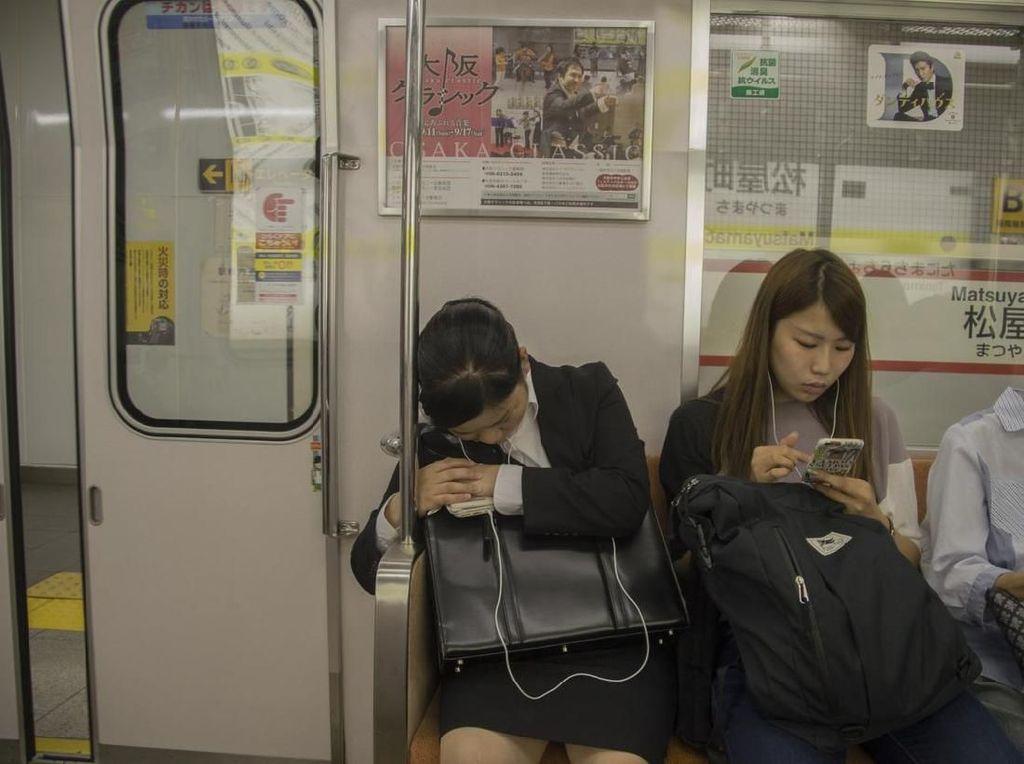 Jepang, Si Negara yang Kurang Tidur
