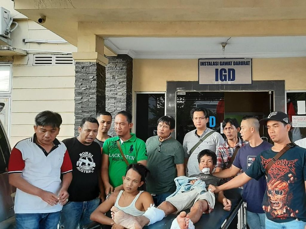 Melawan Saat Ditangkap, 2 Penodong Bersenpi di Palembang Ditembak