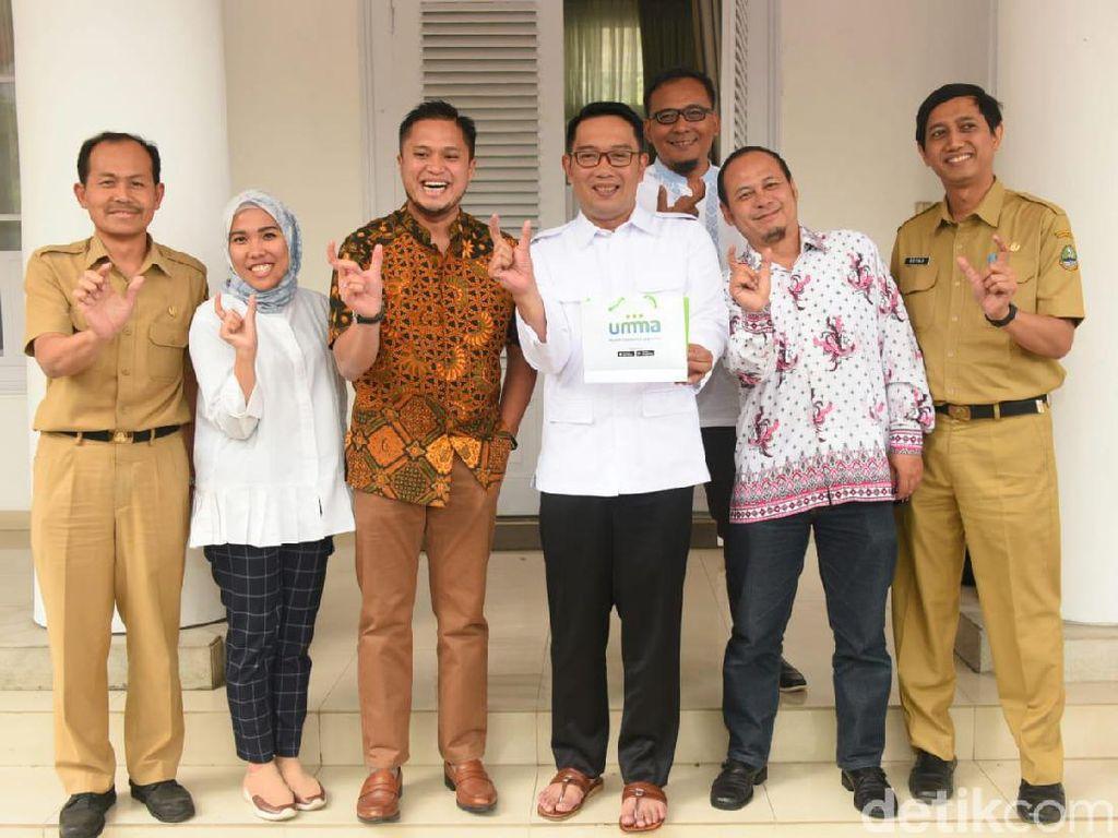Ridwan Kamil Gandeng Aplikasi Umma untuk Program Keagamaan di Jabar