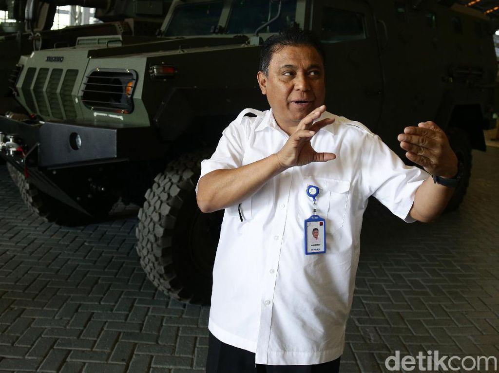 Sebentar Lagi, Blak-blakan Dirut PT Pindad Soal Belanjaan Prabowo