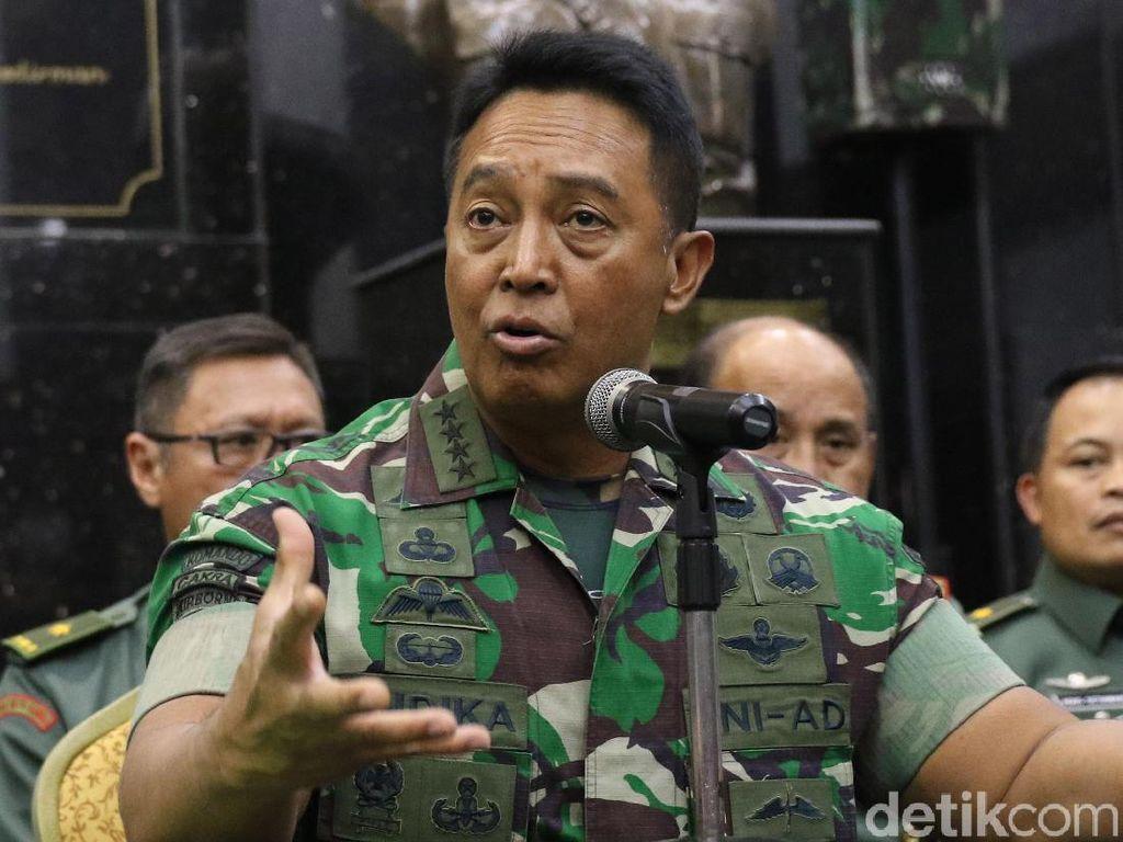 KSAD Dorong Istri Dandim yang Nyinyiri Wiranto Diproses Peradilan Umum