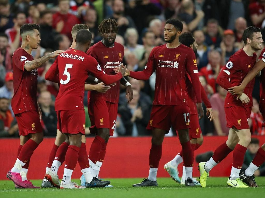 Susunan Pemain Liverpool vs Newcastle United