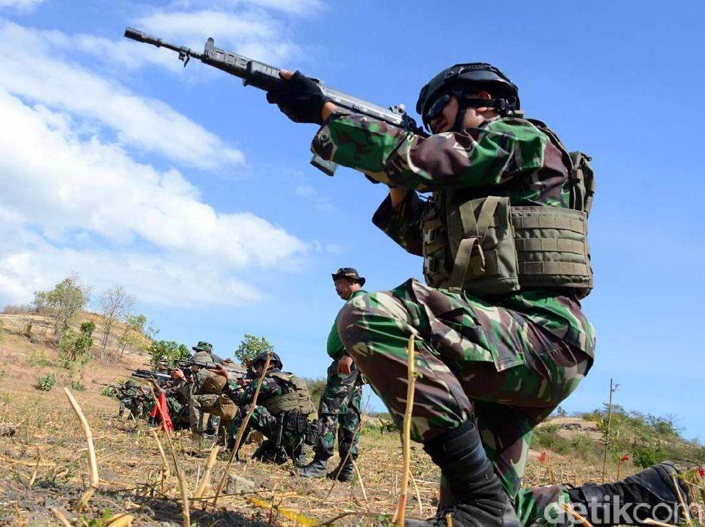 Dor! Marinir Indonesia dan Marinir AS Berlatih Tembak Tempur