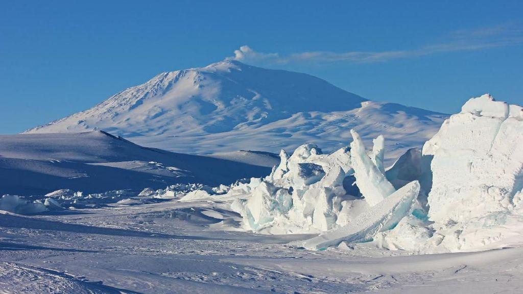 Foto: Gurun Es Terbesar Dunia yang Super Dingin