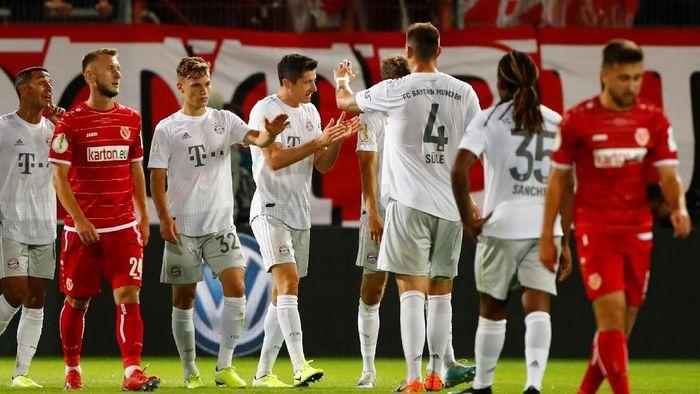 Bayern Munich berhasil mengalahkan Energie Cottbus 3-1 di babak I DFB Pokal (Foto: REUTERS/Hannibal Hanschke