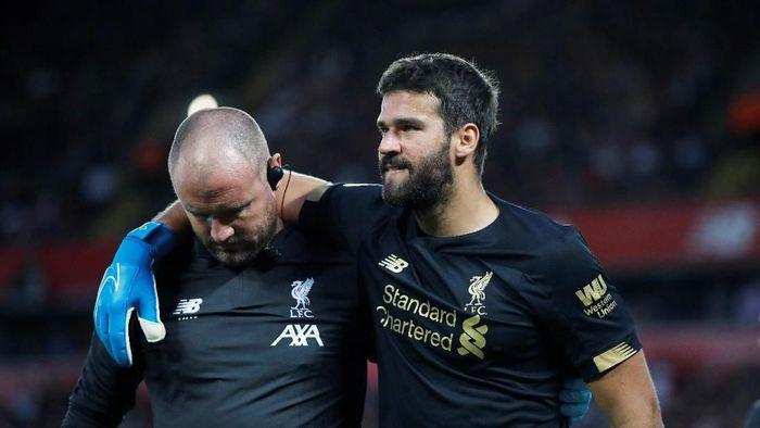 Alissin Becker segera berlatih bersama Liverpool Minggu ini (Foto: Phil Noble/Reuters)