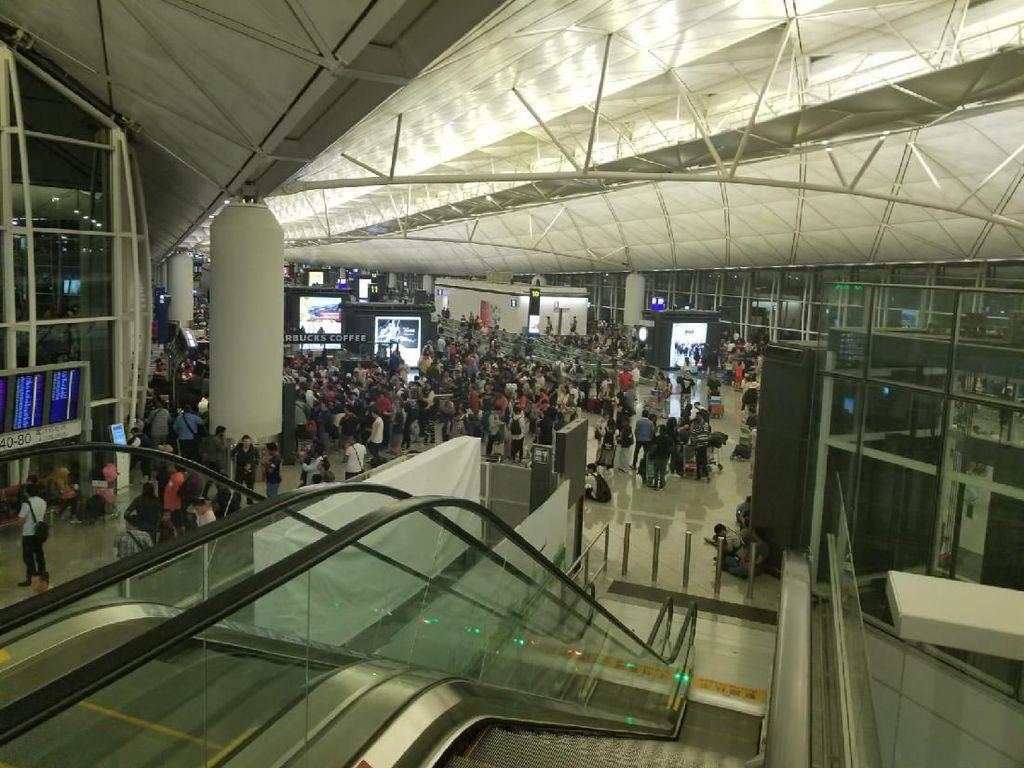 KJRI Sisir Bandara Hong Kong, 40 WNI Dipastikan Aman