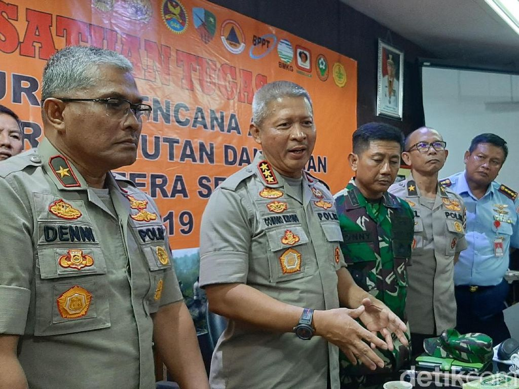 Satgas Karhutla Instruksikan Tembak di Tempat ke Pembakar Hutan