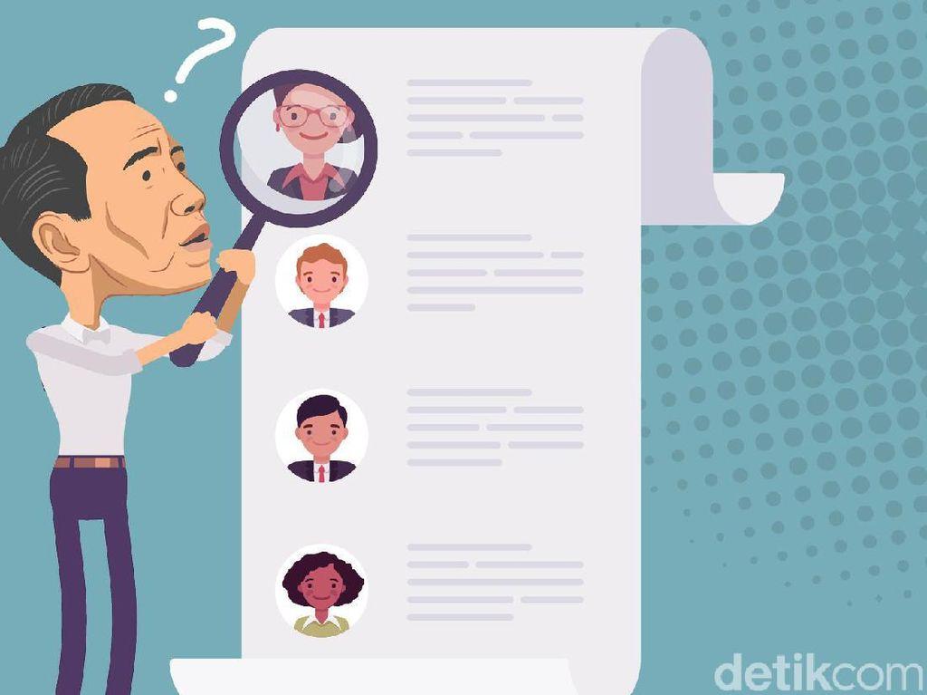 6 Kandidat Jaksa Agung Pilihan detikers
