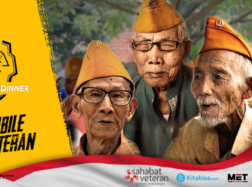 Galang Dana buat Veteran Indonesia Bisa Lewat PUBG Mobile