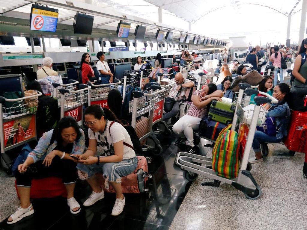 Kemlu Buka Layanan Helpdesk bagi WNI di Bandara Hong Kong