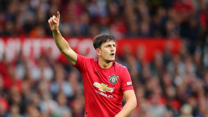 Harry Maguire cuek dengan nilai transfernya. (Foto: Julian Finney/Getty Images)