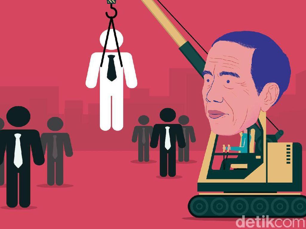 Inikah Nama Calon Menteri Baru Jokowi?