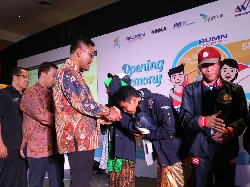 Bareng BUMN, 70 Siswa Jatim-Gorontalo Pelajari Budaya Nusantara