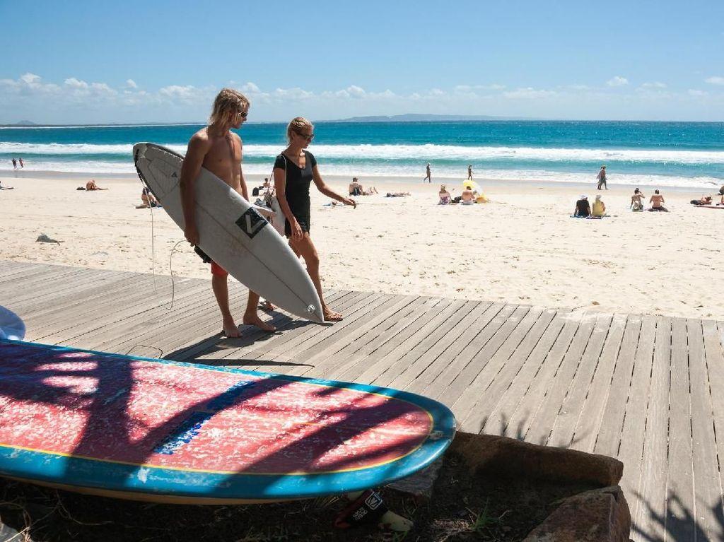 Terlalu Populer, Pantai Cantik di Australia Menolak Turis