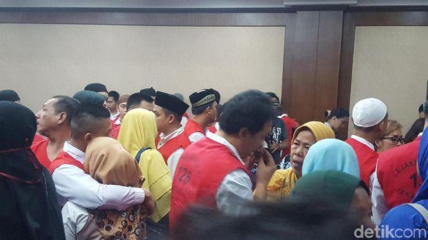 Terdakwa kasus rusuh 21 Mei di PN Jakpus