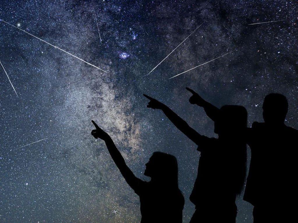 Catat! Jadwal Hujan Meteor untuk Tahun 2021