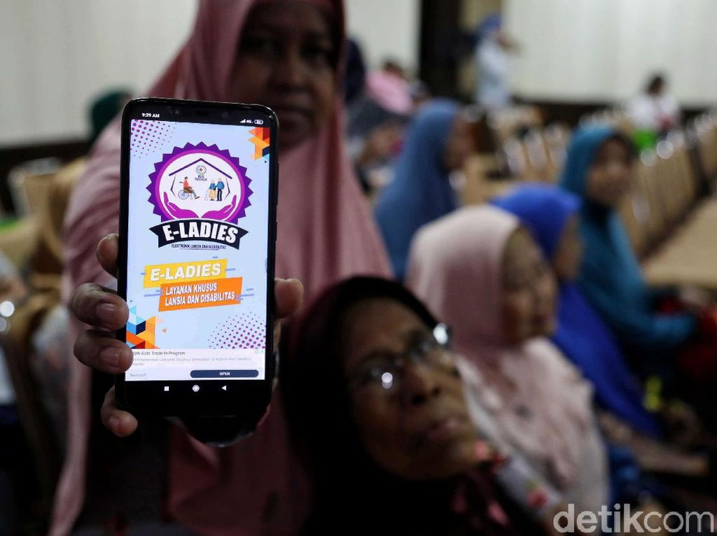 Kemudahan Cek Kesehatan untuk Lansia dan Disabilitas Lewat e-Ladies